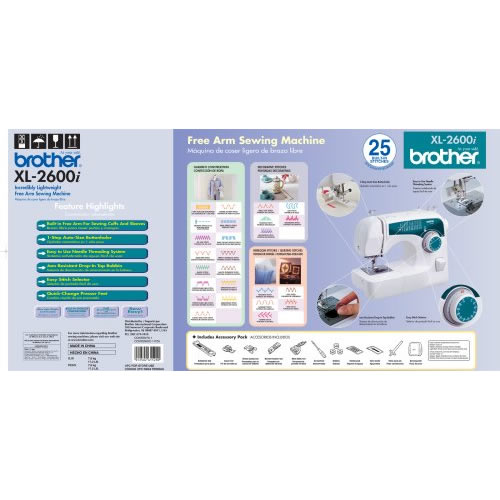 Brother XL40i Find Sewing Machine Fascinating Brother Sewing Machine 2600i