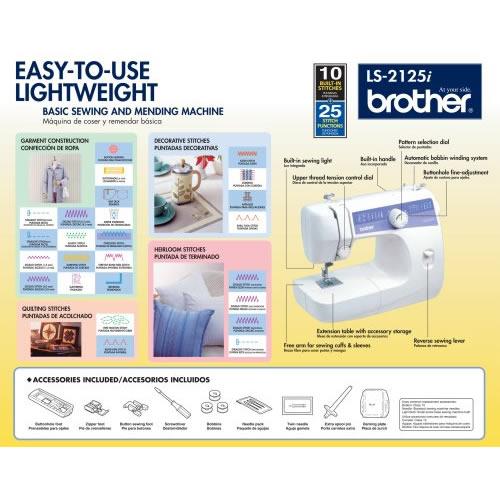 brother ls2125i find sewing machine rh findsewingmachine com brother sewing machine ls2125i instruction manual brother sewing machine ls 2125 instruction manual